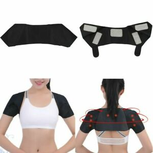 Adjustable Self-Heating Relax Shoulder Pad Belt Magnetic Therapy Strap Tools XL