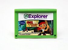 LEAPFROG DISNEY JAKE AND THE NEVER LAND PIRATES LEARNING MATH GAME CARTRIDGE