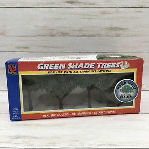 Life Like Trains HO Scale Green Shade Trees Hand Made #1001