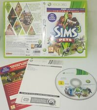 XBox 360 The Sims 3 Pets Limited Edition  Video Game VGC FAST FREE UK POST