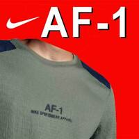 MEN'S NIKE SPORTSWEAR AF-1 AIR FORCE 1 SHIRT LONG SLEEVE TOP AH2036-004 XL - $60