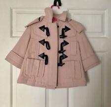 Burberry Coat Baby Girl Sz 9 Months