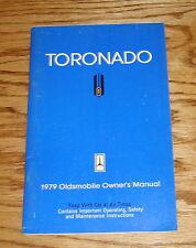 Original 1979 Oldsmobile Toronado Owners Operators Manual 79