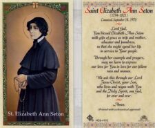 Saint Elizabeth Ann Seton Wife Mother Educator Catholic Prayer Cards HC9-411E