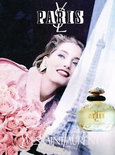 Publicité advertising 1992 Parfum Paris par Yves Saint Laurent