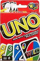 Mattel Uno Sauvage Famille Amusant Classique Carte Jeu Uno Cartes Set