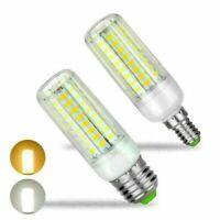 LED Corn Bulb Lamp Light E27 E14 5730 SMD 12W 20W 25W 110V Cool/Warm White rr