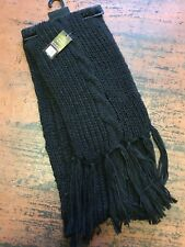 IF LOOKS COULD KILL I.L.C.K Ladies Womens Scarf 2 METERS LOOKS KNITTED BLACK