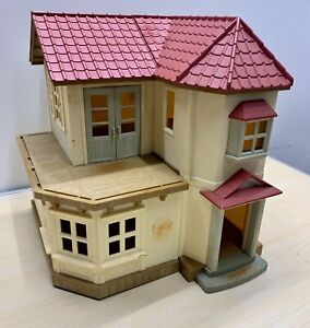 Calico Critters Red Roof Country Home House Play Set Epoch Sylvanian Families