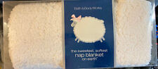 Bath & Body Works Softest Lambie Nap Blanket Throw Large 52 x 52 New Rare