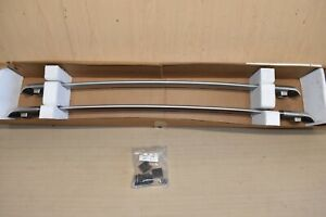 12-16 HONDA CR-V CRV ROOF RACK ALUMINUM RAILS ASSEMBLY GENUINE OEM SILVER