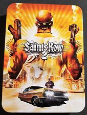 Saints Row 2 Collector's Edition Steelbook Tin Case Poster Map Art Book NO GAME
