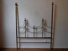 Headboard Brass Mastercraft William Doezema Baker Furniture Queen Bed Glam MCM