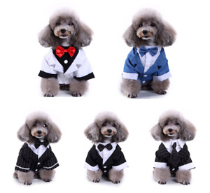 Pets Puppy Dog Fashion Costume Clothing Formal Clothes For Small Medium Dogs New