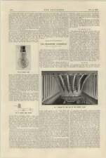 1925 Interior Of Firebox Of Horatio Allen Remarkable Locomotive