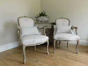 Pair of antique french chairs