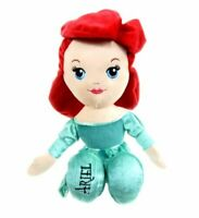 "ARIEL - DISNEY PRINCESS - SOFT TOY - RAG DOLL - 12"" (30CM), LICENCED, BRAND NEW"