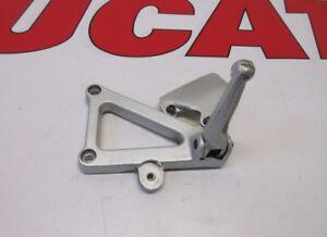 Ducati footrest hanger bracket step left supersport 82410441A 620 750 800 900