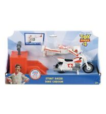 Disney Pixar TOY STORY 4 Stunt Racer Duke Caboom Figure Launch & Race Bike