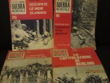 la seconda guerra mondiale 4 numeri 16/26/73/71