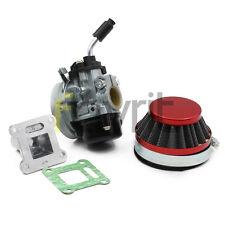 19mm Carb Carburetor 58mm Air Filter 2-stroke 47cc 49cc Mini Pocket Bike Quad