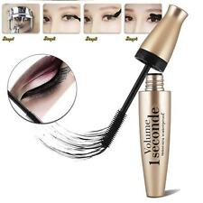 Black Mascara Makeup Beauty Waterproof Lengthening Thickening Silicone Brush S#