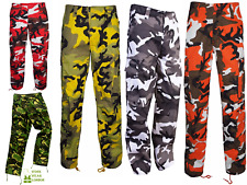 COMBAT CARGO TROUSER PANTS WOODLAND CAMOUFLAGE AND PLAIN COMBAT MILITARY PANTS