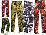 Cargo Armée Combat Camouflage Militaire Pantalon/Pantalon 71.1cm-142cm Taille -
