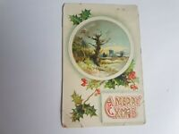 Greeting Postcard Vintage Christmas #72
