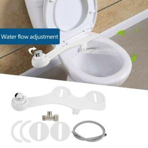 Dusch WC Aufsatz Bidet Intimpflege Einstellbar Kaltwasser Toilettenaufsatz DHL