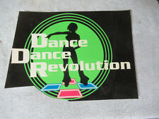 "10"" 1 nos Dance Dance Revolution Ddr Step Sticker Arcade Game Art Filz"