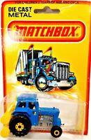 Vintage 1980 Matchbox Superfast #46 Ford Tractor Brand New Original Blister Pack