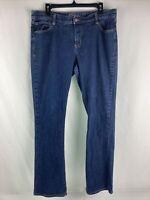 Old Navy Jeans Women's 14 Regular The Dreamer Mid Rise  Straight Leg Jeans