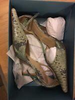 karen millen Snakeskin Pattern Shoes Size 5 (38)