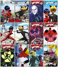 Miraculous #1, 2, 3, 4, 5 - 12 Covers - Lady Bug, Cat Noir, Hawk Moth, Zag!! NM+