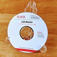 Xerox LCD Monitor Driver Software PC CD-ROM Ver. 1.0