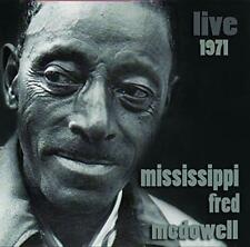Mississippi Fred Mcdowell - Live 1971 (NEW CD)