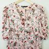ZARA | Womens Mini Print Dress  [ Size L or AU 14 / US 10 ]