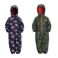 Regatta Boys/Girls Printed Splat II All In One Puddle Childrens Waterproof Suit