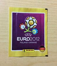"BUSTINA SIGILLATA FIGURINE PANINI ""EURO 2012"" - BORDO GIALLO - ED. TEDESCA"