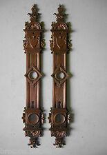 ancienne plaque proprete bronze deco porte ancienne serrure chateau