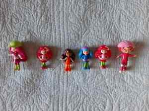 McDonalds Happy Meal toys Strawberry Shortcake cake toppers