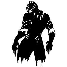 "6.6"" Black Panther Vinilo Autoadhesivo Con Ventana De Coche Portátil cómics Marvel Wakanda"