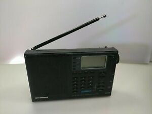 Sangean ATS-808 FM LW MW SW Portable Radio Works, But Some Repairs Needed. [a1]