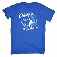Adventure Before Dementia Surf T-SHIRT tee surfer board funny birthday gift 123t