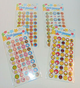 200 Christian Verse Stickers (4 Packages) Scrapbook, Bible Study Crafts, Reward