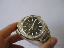 OMEGA SEAMASTER PLANET OCEAN DIAMOND BEZEL DIVING WATCH 42MM 232.15.42.21.01.001