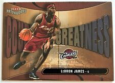 LEBRON JAMES 2003 / 04 FLEER PATCHWORKS COURTING GREATNESS INSERT 23 OF 25 RARE!