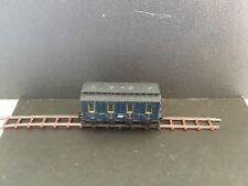 Egger Bahn  Dark Blue  Passanger Coach unboxed