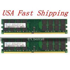 8GB Kit 2x 4GB DDR2 PC2-6400U 800MHz 240Pin AMD Memory Desktop RAM For Samsung